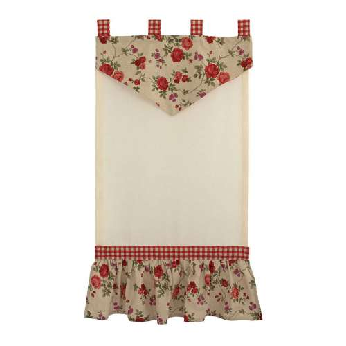 "TENDA COUNTRY ""GARDEN ROSE"" ROSSA"