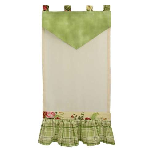 "TENDA COUNTRY ""GARDEN ROSE"" VERDE"