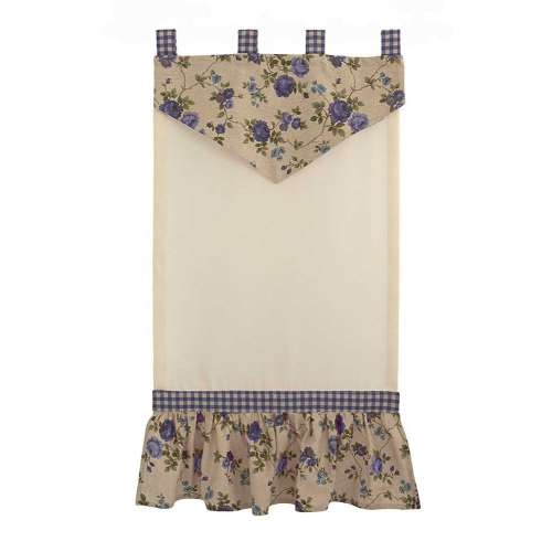 "TENDA COUNTRY ""GARDEN ROSE"" BLU"