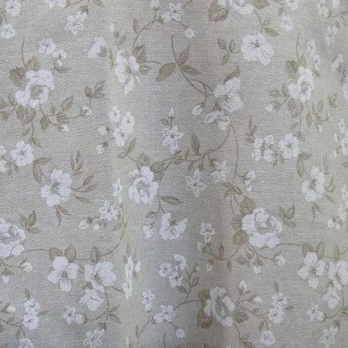 Tessuto Shabby a fiori H. 280 cm.