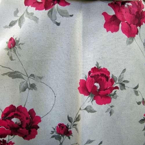 Tessuto a fiori VET H.280 cm.